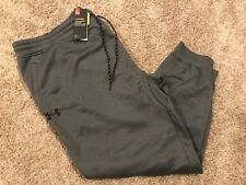 NWT Men's Under Armour UA Fleece Storm Jogger Pants Dark Gray BIG&Tall 4XL RT$60