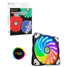 Game Max Storm Force RGB 12cm Fan LED, with 16.8 Million Colours, 15 x RGB LED's