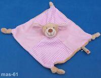 VIPO der fliegende Hund Baby Rosa Schmusetuch Kuscheltuch Schnuffeltuch Neu