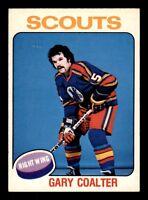 GARY COALTER 75-76 O-PEE-CHEE 1975-76 NO 334 EX+ 17062