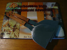 Teppanyaki Barbecue instyle cookbook & Spatula Medium set 1M