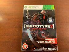 Xbox 360 Prototyp 2 Limited Edition Bio Bombe neue Fabrik Versiegelt UK Version