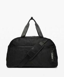 New Lululemon All Hours Duffel Bag - Black - $158 MSRP - 43L