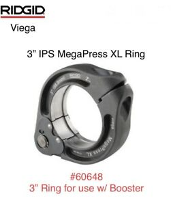 "60648 Ridgid 3"" IPS Viega MegaPress XL Ring Jaw Only For Booster Press Tool"