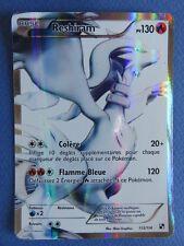 Carte Pokémon - Reshiram - 113/114 - PV 130 - Noir et blanc - 2011 - SG - RARE