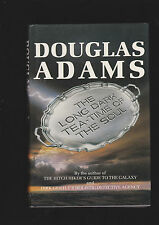 DOUGALAS ADAMS LONG TEA TIME FOR THE SOUL.SIGNED U.K.ED.HARDCOVER DUST JACKET