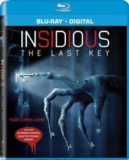INSIDIOUS: THE LAST KEY BLU-RAY - NEW - LIN SHAYE - LEIGH WHANNELL - HORROR