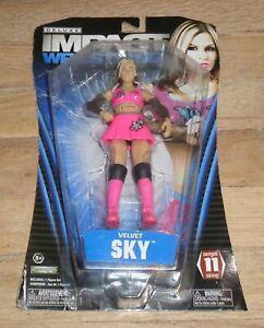 2013 NWA TNA Impact Jakks Velvet Sky Diva Deluxe Wrestling Figure Series 11