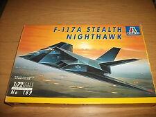 Italeri - F-117a Stealth NIGHTHAWK-Bausatz 1:72 von 1990