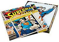 Superman set of four drinks coasters in presentation box (hb)