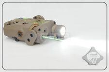 FMA PEQ-15 LA5 Upgrade Ver LED White Green Laser IR Lenses With Code DE TB0073