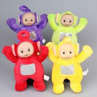 Lot 4 pcs Teletubbies Laa-Laa Po Tinky Winky Dipsy Soft Plush Toy Doll 11 inch