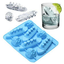 Silikon Schiff Boot Shaped Carving Form Ice Cube Trays Maker Form Titanic Party