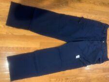 Men'S ~ Oil & Gas Safety Supply / Fire Zero ~ Straight Fr Pants Size 38x34 Euc!