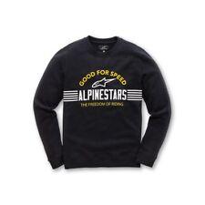Alpinestars Bares Jersey Sudadera de Polar Deporte Motocross Negro/Azul Marino