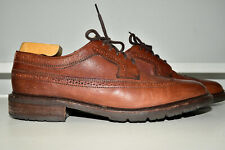Frye Men Wingtip Brown Leather 10.5 D