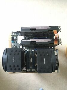 Dual Xeon 2640 CPUs, Asus Z9PE-D8 WS Motherboard, 64GB RAM Bundle
