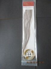 whiting 100s dun size 14 saddle feathers flytying materials