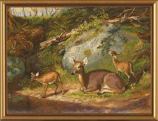 """Cross Stitch Kit NOVA SLOBODA HB 3008 - """"Deer"""""""