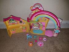 MLP My Little Pony Ponyville Rainbow Dash Rainbow House Playset 100% Complete