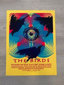 DAVID O'DANIEL - The Birds Art Print Poster Signed *RARE* mondo laurent durieux
