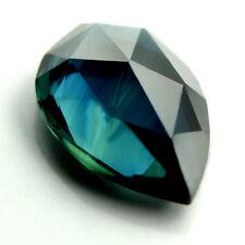 Certified Natural Sapphire 1.62ct VVS Blue Rose Cut Pear 8.96x6.2mm Madagascar