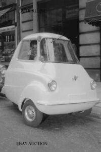Scootacar 1959 - bubblecar - minicar – photograph automobile press photo car