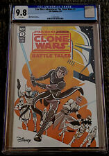 STAR WARS ADVENTURES: THE CLONE WARS #1 CGC 9.8 CHARM COVER A 1ST PRINT IDW NM