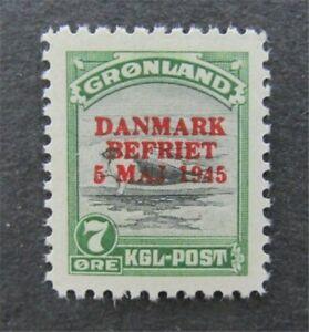 nystamps Greenland Stamp # 21 Mint OG NH $70   A23y278