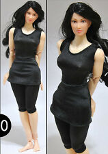 "1:6 Figure Women Clothing Dress F 12"" Verycool Jiaou doll Small Bust Female Body"