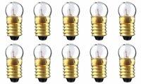CEC Industries #50 Bulbs, 7.5 V, 1.65 W, E10 Base, G-3.5 shape (Box of 10)