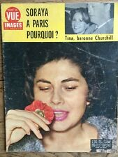 Point de Vue 1961 - Soraya à Paris Tina ex Onassis epouse l'heritier Churchill