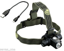 JETBeam HR25 Rechargeable 800lm Headlamp XM-L2 w/1x 18650 Battery & USB Cable
