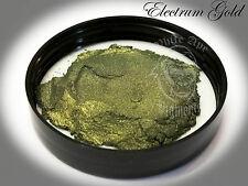 Electrum Gold Pearl Powder Pigment paint plastidip nail art soap making mica 25g