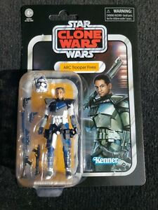 Star Wars Vintage Collection Clone Wars VC172 ARC TROOPER FIVES In Hand New