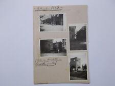 CARTOLINA EMILIA ROMAGNA PIACENZA CASTELLARQUATO GITA IN BICI 1932 FOTOGRAFIE