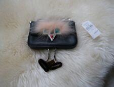 New ListingNWT 100% AUTH Fendi Face Micro Calfskin   Genuine Fur Baguette  with Slippers 7f7fa9ea83721