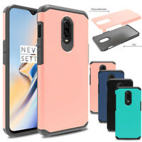 Shockproof Armor Bumper Hybrid Slim Hard Case Protective Cover For Oneplus 6T