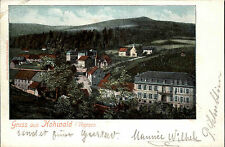 Le Hohwald Frankreich France Elsass Vogesen ~1901 Panorama Landschaft Dorf Wald