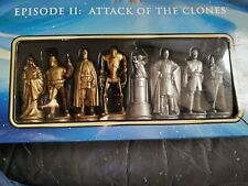 Star Wars CHESS SET Episode II: Attack of the Clones NEW Yoda PADME Anakin