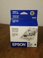 Factory Sealed Genuine Epson T0361-20 Black Ink for C42UX, C42SX, C44UX Expired