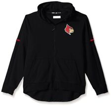NCAA Louisville Cardinals Men's Sideline Squad ID Jacket Small Black *NWT*