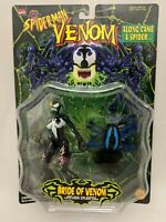 Vintage Marvel Toybiz Bride Of Venom Action Figure Moc Spider-Man Legends