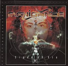 Manigance - Signe de Vie (CD, 2003, Nothing to Say) Import RARE/OOP