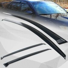 Sun roof /& Window Visor Wind Guard Out-Channel 5pcs 2014-2016 Subaru Forester