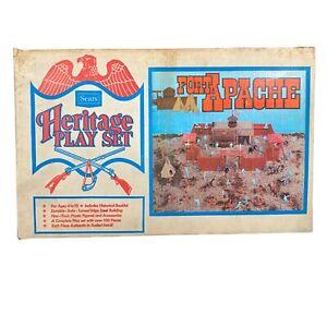 Vintage Sears Heritage Play Set Fort Apache  Marx Roy Soldiers