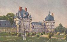 CE07.Vintage Postcard.Sid's Oil Paintings. Chateau de Valencay. France