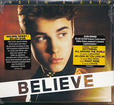Believe: Deluxe Edition - Justin Bieber CD + DVD set [DIGIPAK] Canada Import NEW