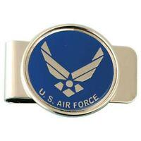 AIR FORCE LOGO USAF MILITARY MONEY CLIP