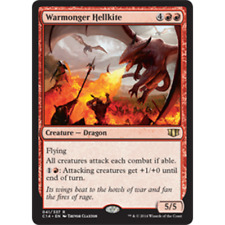 MTG Warmonger Hellkite NM - Commander 2014